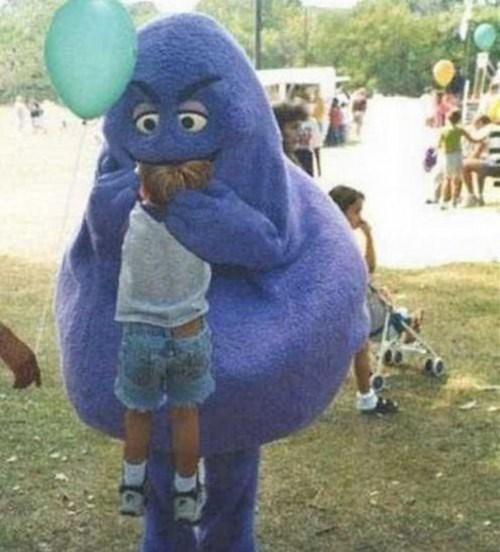 The Grimace's Strict McDonalds Diet Left Him with Odd Tastes