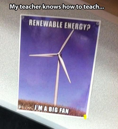 pun,fan,energy