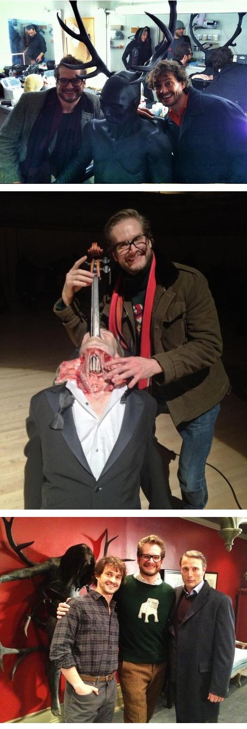 Behind The Scenes Pics From 'Hannibal' Are Creepy