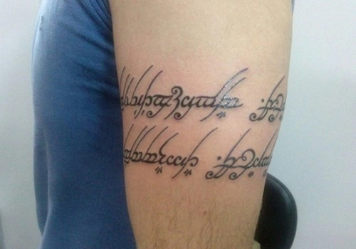 Lord of the Rings,tattoos,funny,g rated,Ugliest Tattoos