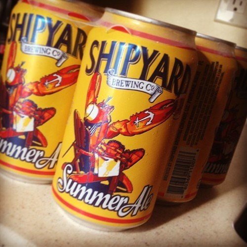 beer,shipyard,can of the week,funny