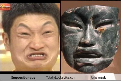 Impossibru Guy Totally Looks Like This Mask