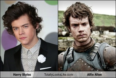 Harry Styles Totally Looks Like Alfie Allen