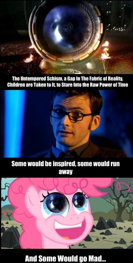 pinkie pie,doctor who