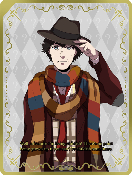 4th Doctor: Manga styled