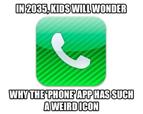 phones,nostalgia,apps