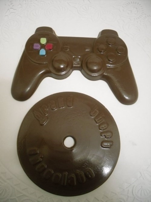 chocolate,controllers,video games
