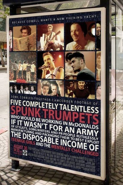 How Cardiff, Wales Advertises One Direction