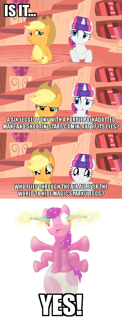 It was Actually Twilight's Telescope