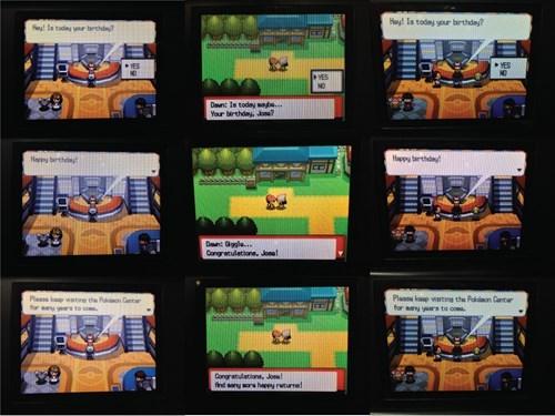 Birthdays With Pokémon