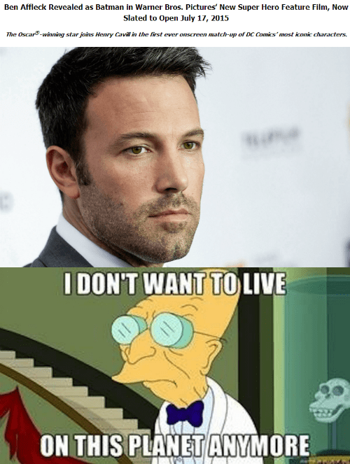 Ben Affleck Cast as Batman