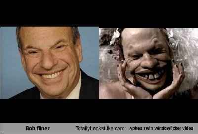 Bob filner Totally Looks Like Aphex Twin Windowlicker video