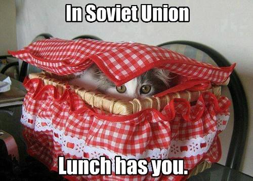 In Soviet Union