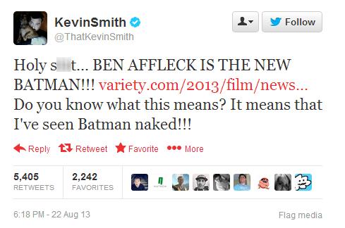 ben affleck,ben affleck is batman,kevin smith,batman,ben affleck as batman,batfleck,superbatman,failbook