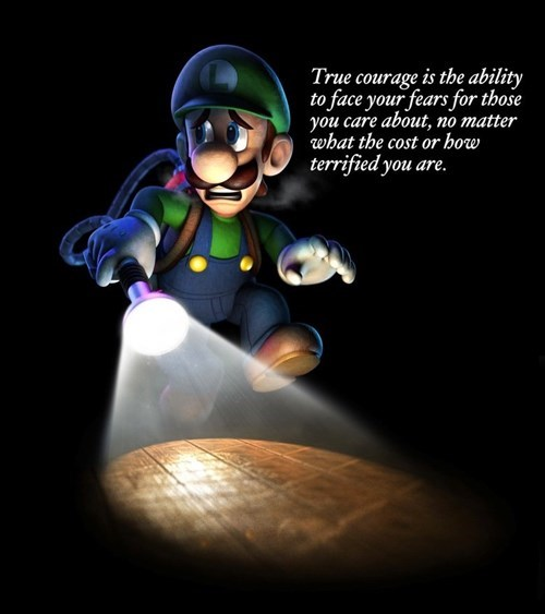 And People Call Luigi a Coward...