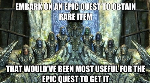 This is True in a Lot of RPGs