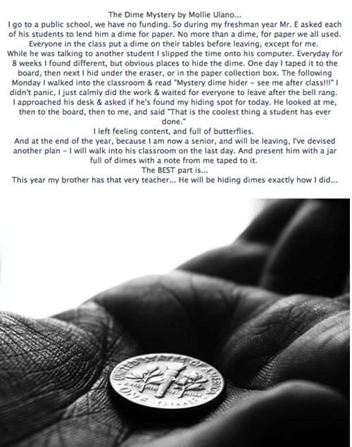 The Dime Mystery