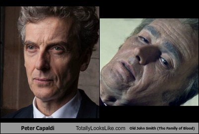 Peter Capaldi,john smith,David Tennant,totally looks like,doctor who