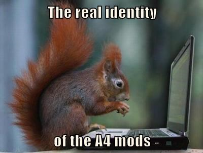 The real identity  of the A4 mods