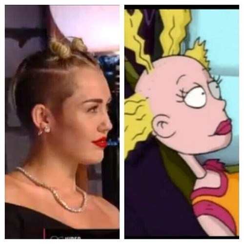 It Bears Repeating: Miley Stole Angelica's Doll Cynthia's Hair