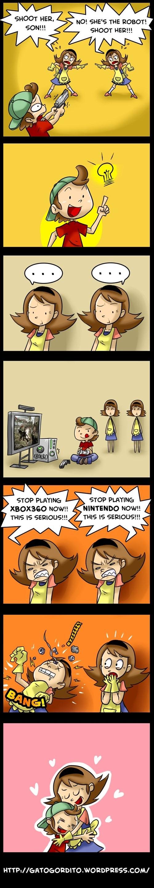 comics,moms,gamers