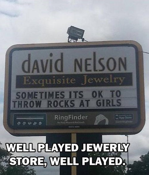 It Wasn't Playground Harrassment, it's a Rock Proposal!