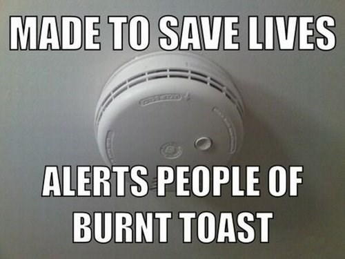 Scumbag Fire Detector
