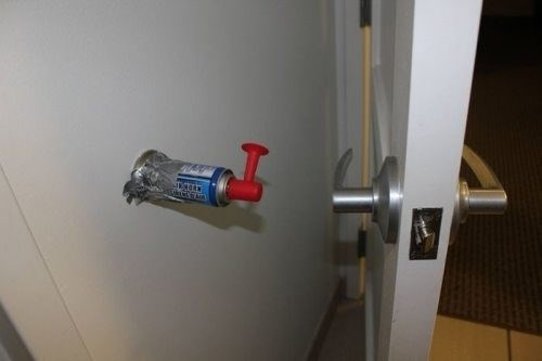 Makeshift Security System