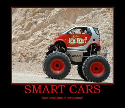 So Where's the Cool Smart Car?