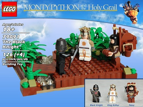 Monty Python and the Holy Lego Set