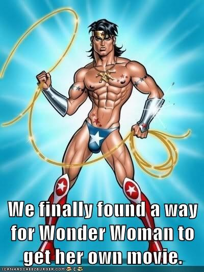 We finally found a way for Wonder Woman to get her own movie.