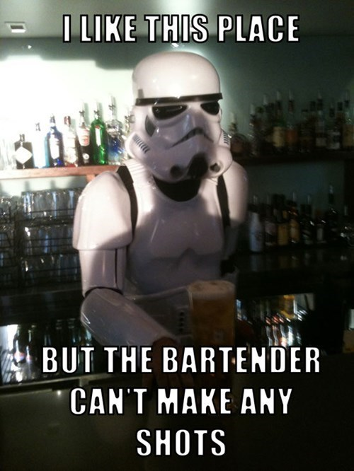 bar,shots,star wars,stormtrooper