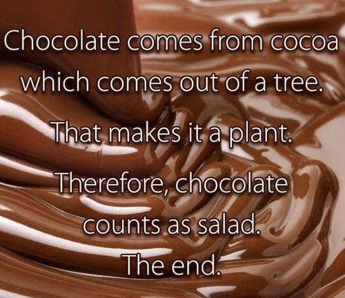 salads,diets,chocolate,food,americana