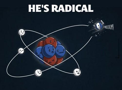 freedom,radical,atom