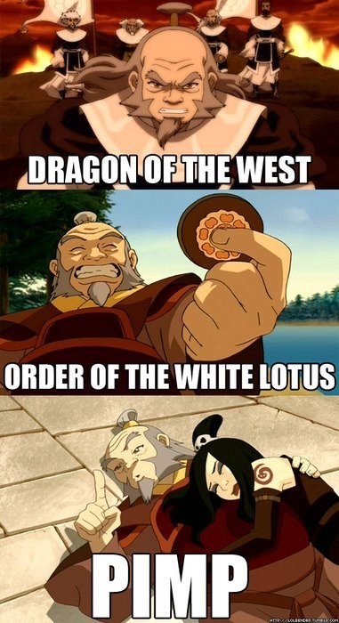 Iroh: The Manliest Man to Ever Man