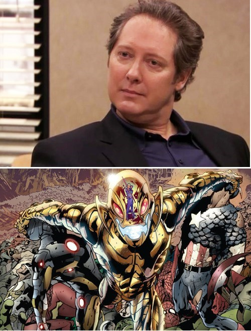 James Spader is Ultron