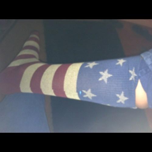 Merica socks!!!1!1!!