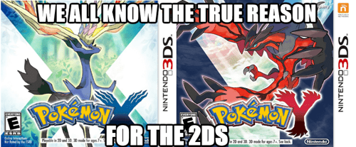 The Real Reason for the 2DS