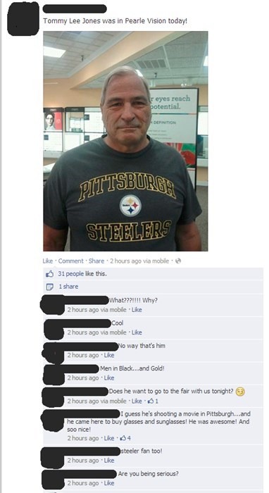 mistaken identity,pearle vision,tommy lee jones,failbook,g rated