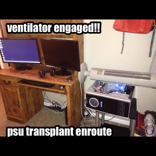 Ventilator Engaged!