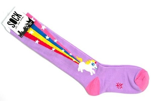 unicorn,socks,rainbow,fart