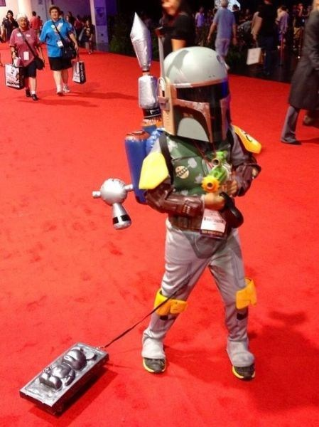 Mini-Boba Fett