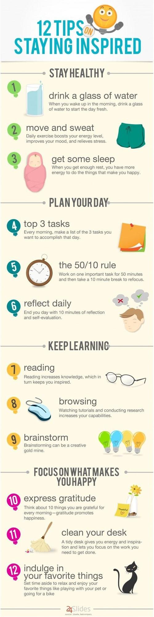 inspiration,refresh,infographic