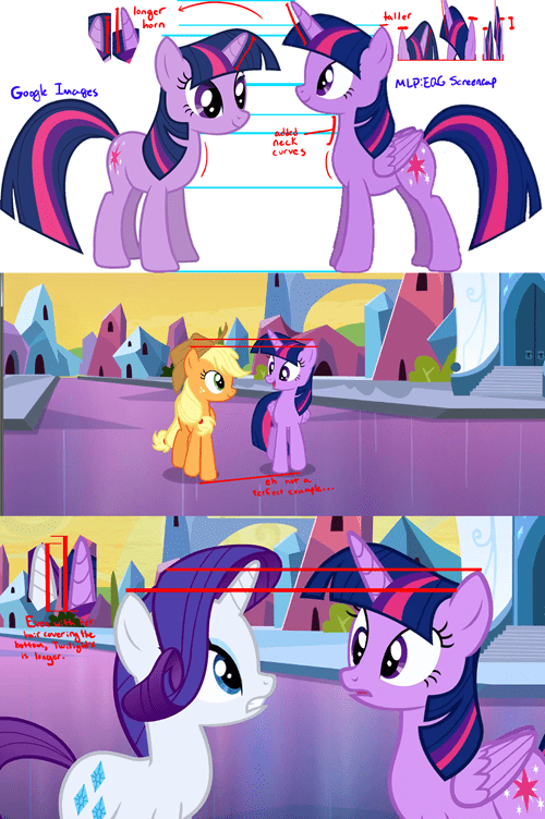 Alicorn Twilight is Taller