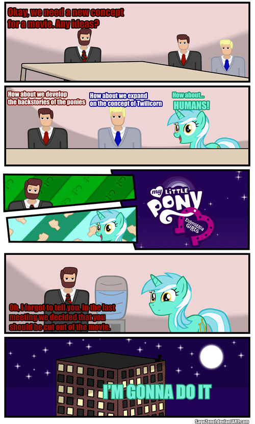 What if Lyra Invented Equestria Girls?