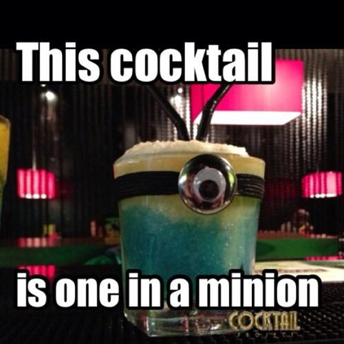 despicable me,minion,cocktail