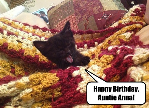 Happy Birthday, Auntie Anna!