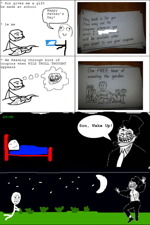 Troll Dad Thoughts