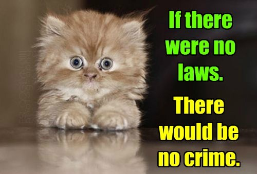 Nothing would be criminal. Logical.  Scary, but logical.