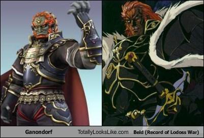 Ganondorf Totally Looks Like Beld (Record of Lodoss War)